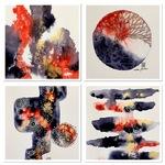 Debbie Abshear - Stress Free Watercolor Doodling Zoom II