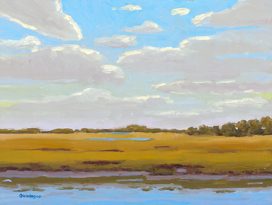 Twlight at Alligator Point - Oil