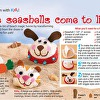 Seashell creatures featured in Woman's World Magazine, August 2013 issue