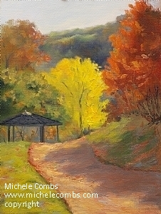 Autumn Gold, Normandale Lake Park by Michele Combs  ~ 16 x 12