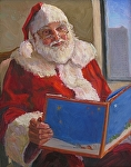Santa Tom by Michele Combs  ~ 20 x 16