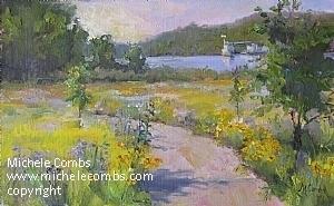 St Croix Garden by Michele Combs  ~ 10 x 16