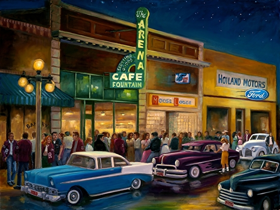 Main Street Memories - Oil