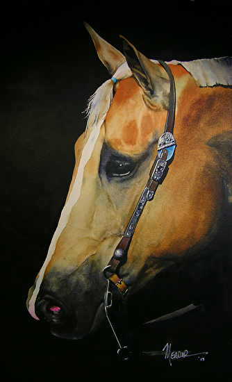 Poco Palomino - Watercolor