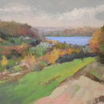 Barbara Reich - Glen Arbor Paint Out Quick Draw