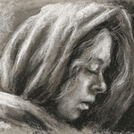 """Nicole Troup - ONLINE DEMO and Q&A """"Portrait Drawing In Charcoal"""""""