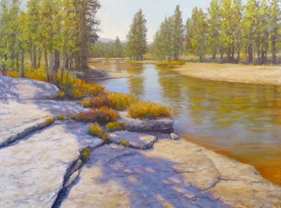 Yosemite High Country, October  Oil 30x40 Terry Pappas - Oil