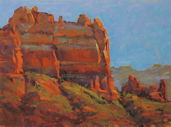 Sedona Afternoon (Snoopy Rock) - Oil