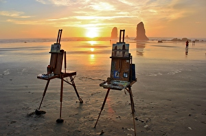 My Traveling Easel