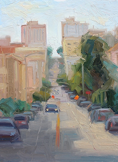 San Francisco Streets - Oil