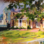 The Centerpiece Gallery - Paint Dramatic Interiors or Charming Exteriors with Cathy Martin
