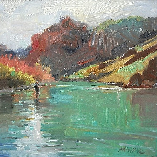 Early Spring On The Owyhee - Oil