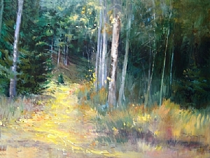 Fallen Gold by Mary Maxam Acrylic ~ 36 x 48