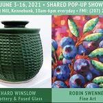 Robin Swennes - Shared Pop Up on Maine Art Hill