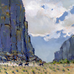 Kent Brewer - Ellis County Spring Plein Air