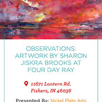 Sharon Jiskra Brooks - Observations Solo Show at Four Day Ray