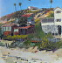 Crystal Cove Cottages by Robert Thoren