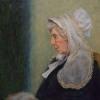 Leora as Whistler's Mother