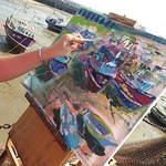 Zsuzsanna Pataki - SATURDAY Art Course: The Power of Colours in Boats and Harbours