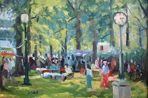 Art Festival by Mehdi Fallahian Oil ~ 11 x 14