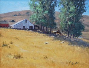 Sonoma Old Farm by Mehdi Fallahian  ~ 9 x 12