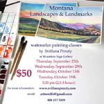 Svitlana Prouty - Montana Landscapes & Landmarks Watercolor Painting Class