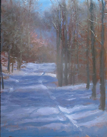 Winter Grooved   rzd - Oil