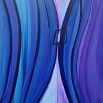 Kelley Batson-Howard - �True or False Blue� CFA Member exhibit.