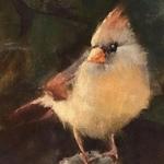 Lisa Regopoulos - Painting Birds in Pastel