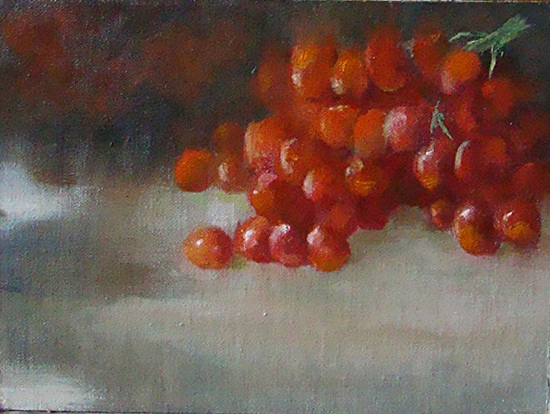 Color of Red - Oil