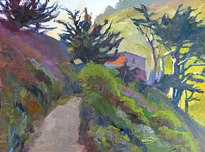 Tom's Path by Sterling Hoffmann Oil ~  x