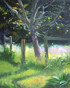 "Spring Morning by Sterling Hoffmann Oil ~ 14"" x 11"""
