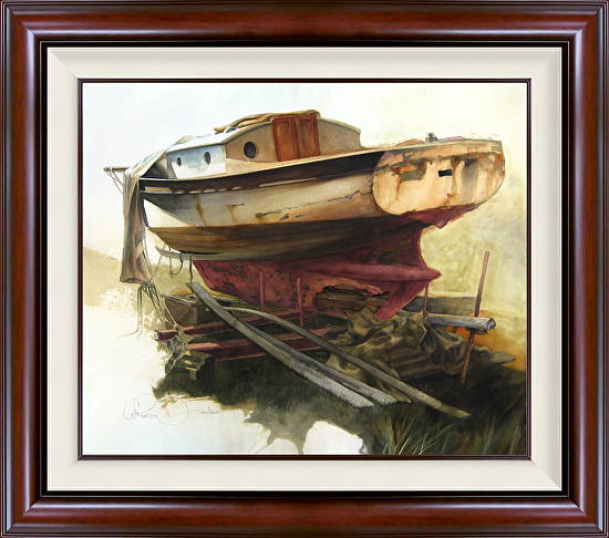 Dun Sailin Framed -