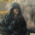 Tracy Ostmann Haschke - Night Watch Oil Painting - Substitute Instructor