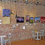 Gail Sjoman, Art Liaisons - Art Exhibit at Philz Coffee San Mateo