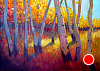 "Changing Seasons by Janice Druian Oil ~ 40"" x 70"""
