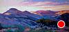 """When the Purple Shadows Fall 8x16, oil, druian 2014 by Janice Druian Oil ~ 8"""" x 16"""""""