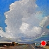 Driving Into The Storm (final) by Janice Druian Oil ~  x 20""