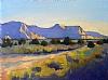 """Desert Tranquility by Janice Druian Oil ~ 11"""" x 14"""""""
