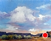 "Clouds Over Warm Springs by Janice Druian Oil ~ 11"" x 14"""