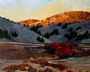 "Last Light, Near John Day by Janice Druian Oil ~ 16"" x 20"""