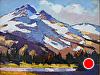 """Cascade Harmony by Janice Druian Oil ~ 11"""" x 14"""""""