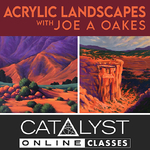 Joe A. Oakes - Acrylic Landscapes with Joe A. Oakes