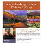 Joe A. Oakes - Paint a Bold Landscape in Acrylics