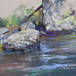 Albert Handell - August 2021 - Santa Fe Plein Air Workshop