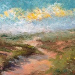 Kari Feuer - Painting Landscapes using a Palette Knife--or a Large Paintbrush!