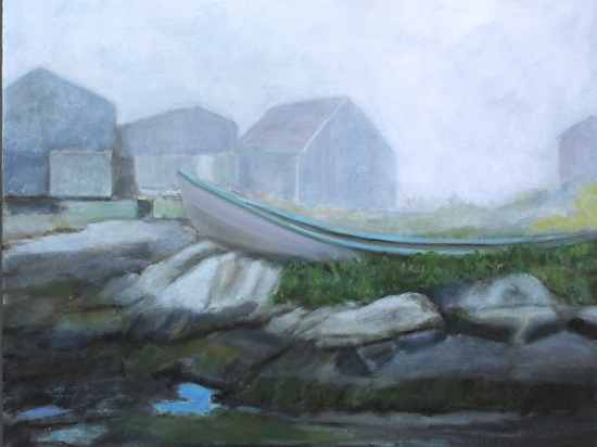 Newbrunswick Coast - Oil