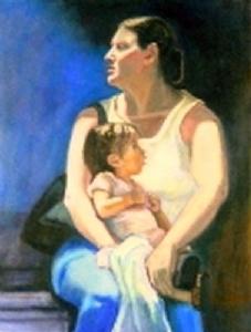 An example of fine art by Liz Peveto