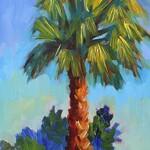 Diane McClary - Basic Impressionist Art I - Painting Palm Trees