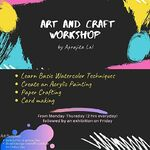 Aprajita Lal - Art n Craft workshop for kids (6-10yr old)